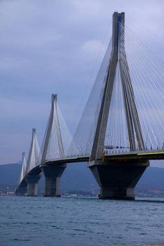 Rio - Andirrion Bridge, Patras_Greece