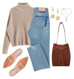 """""""Untitled #4571"""" by magsmccray on Polyvore featuring Stuart Weitzman, Mansur Gavriel and Ettika"""