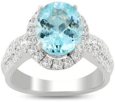 950 Platinum with 3.32ct Paraiba Tourmaline and 1.03ctw Diamond Ring Size 7.0
