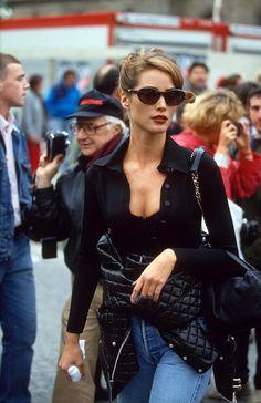Christy Turlington 90s date night looks are back.
