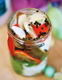 You Can Take It With You. Preserving, pickling, canning, etc.