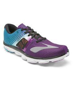 a7e4bdc3bb76 Brooks Hollyhock   Blue Bird PureCadence 4 Running Shoe - Women