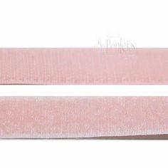 Velcro para coser de color rosa