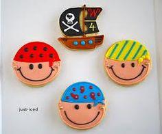 just-iced: custom handmade sugar cookies: Pirate Cookies for Winston Pirate Day, Pirate Birthday, Pirate Theme, 4th Birthday, Birthday Ideas, Birthday Parties, Iced Cookies, Cute Cookies, Sugar Cookies