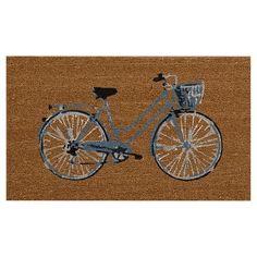 """18""""x30"""" Outdoor Doormat - Bicycle - Threshold™ : Target"""