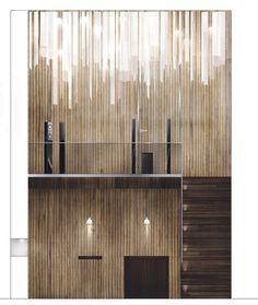SONY concept store - interior design by Karolina Pajnowska, via Behance