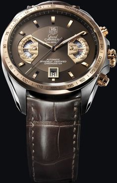 TAG Heuer Grand CARRERA  Calibre 17 RS Chronograph  Steel & Rose Gold (18K 5N) (43mm)