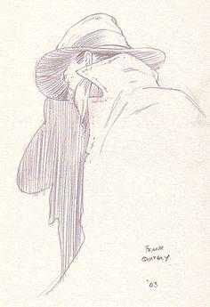Frank Quitely - The Shadow, in Alan Henderson's The Shadow - Sketchbook Volume 1 Comic Art Gallery Room Comic Book Layout, Comic Book Pages, Comic Books Art, Book Art, Steve Ditko, Art Archive, Pulp Fiction, Comic Artist, Comic Character
