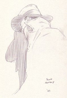 Frank Quitely - The Shadow, in Alan Henderson's The Shadow - Sketchbook Volume 1 Comic Art Gallery Room - 185540