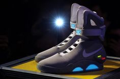 Nike to unveil Back to the Future 'power laces' replica shoes - NY ...