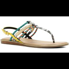 89c1298784c Aldo MultiColor Sandals Perfect sandals to go with any outfit! Great for  summer! ALDO