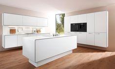 Pia  Kitchen Furniture, Kitchen System  Manufacturer allmilmö-Zeiler Möbelwerk GmbH & Co. KG, Germany