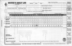 Truck Drive Log Book   driver log book template