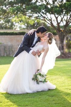 Photography : Elizabeth Medina Photography Read More on SMP: http://www.stylemepretty.com/destination-weddings/mexico-weddings/2016/02/20/lush-garden-inspired-yucatan-country-club-wedding/