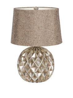 This lamp would be difficult to dust, but I really like the shape