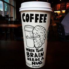 wannajoke: Coffee hug | in the cloud