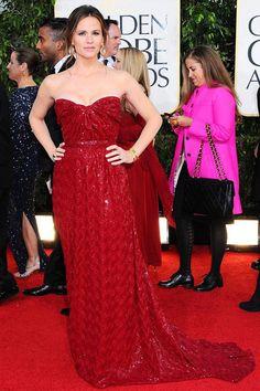Jennifer Garner Golden Globes 2013 Vivienne Westwood couture