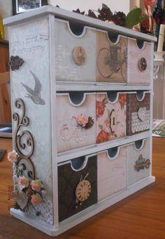 My Kaisercraft drawers - by Ginny