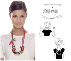 Hermes Scarf Knotting Cards | Lollipuff