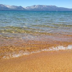 Pope Beach in Lake Tahoe- This beach is one of the nicest and most popular of Tahoe, with enough space that it never feels to crowded. Picnic tables and barbeques are available, and crisp, clean water make for a great place to have some fun in the sun.