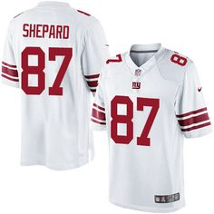 $24.99 Youth Nike New York Giants #87 Sterling Shepard Limited White NFL Jersey