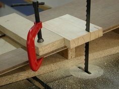 The Sorted Details: Bandsaw Dovetail Jig - Free Plan