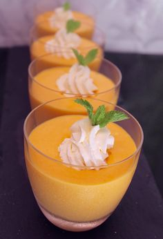 Mango Mousse, Mousse Dessert, Dinner Recipes, Dessert Recipes, Health Dinner, Food Crafts, Low Carb Keto, Food And Drink, Cooking Recipes