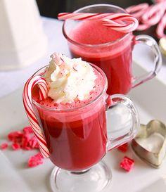 Red Velvet Cocoa. Definitely making this healthier!