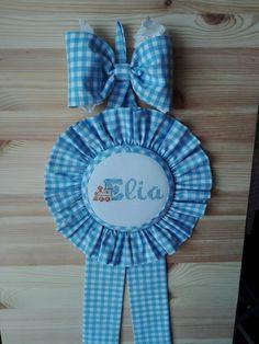 """Fiocco nascita """"Elia""""...guardalo sul mio negozio https://www.bebuu.it/ITA/dettaglio/e-arrivato-il-piccolo-elia.html"""