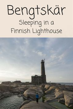 Have you ever imagined sleeping in a lighthouse? We fulfilled this dream in Bengtskar, a lighthouse in the Finnish Archipelago!