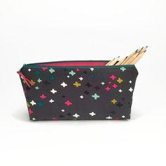 Star pencil case, Pencil pouch, Starry pencil case, Cute pencil pouch, Star Pencil bag, Desk organiser, Back to school supplies, Makeup bag