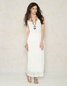 Amisha Maxi Skirt | White | Monsoon (not available anymore but love the pic)