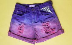 #ColunadaGi: passo a passo para tingir e deixar seu short jeans mais fashion! - It Girls - CAPRICHO