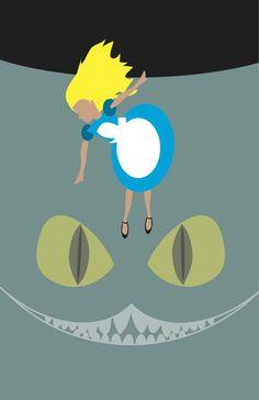 Alice in Wonderland Available in 12x18 prints
