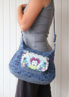 Items similar to The Hydrangea Hobo Bag - PDF Sewing pattern on Etsy Marc Jacobs Handbag, Designer Wallets, Pdf Sewing Patterns, Bag Patterns, Quilting Patterns, Tall Women, Lining Fabric, Fashion Advice, Outfit