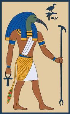 Djehuty, bka the God Thoth by Tutankhamun.deviantart.com on @deviantART