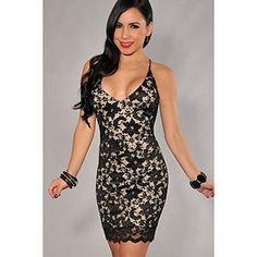 Women's Sexy/Bodycon Stretchy Sleeveless Mini Dress, $50.00