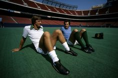Beckenbauer, Cruyff at the Cosmos