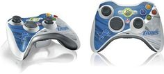 Skinit Detroit Lions Vinyl Skin for 1 Microsoft Xbox 360 Wireless Controller by Skinit. $11.99. IMPORTANT: Skinit skins, stickers, decals are NOT A CASE. Our skins are VINYL SKINS that allow you to personalize and protect your device with form-fitting ski