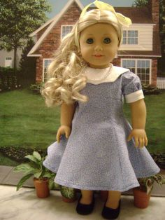 American Girl Doll Clothes1950s Inspired by gofancynancy on Etsy, $29.99