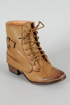 Pisa-11 Lace Up Military Ankle Bootie $36.20