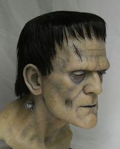 Frankenstein Bust & Mask Pics