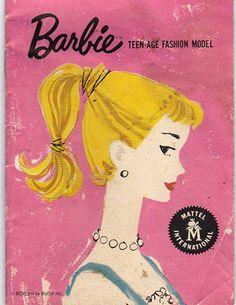 1959 - 1960 Barbie Booklet