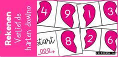 De kinderen kunnen met deze domino de splitsingen tot en met 10 op een speelse manier (in)oefenen. Klik hier voor het downloaden van de domino. Gerelateerd