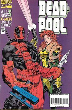 Deadpool # 3 Marvel Comics Vol 1