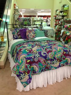 Check out Vera Bradley bedding! Only at Dillard's!