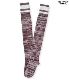 Fold-Over Over-The-Knee Boot Socks - Aeropostale