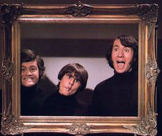 The Monkees, Micky Dolenz, Davy Jones, Mike Nesmith.