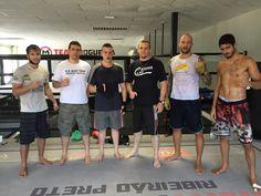 Edgard Castaldelli  Dando uma força nos treinos da Equipe RD Boxe