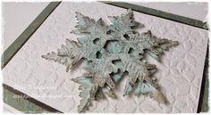 ScrappEllen: Layered Snowflake